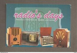 RADIO'S DAYS  MOSTRA RADIO ANTICHE  Bellaria Igea Marina 2004 CARTOLINA - Eventi