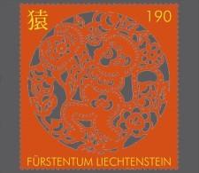 Liechtenstein 2015 Mih. 1789 Chinese New Year. Year Of The Monkey MNH ** - Ungebraucht