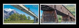 Liechtenstein 2018 Mih. 1886/87 Europa-Cept. Bridges MNH ** - Liechtenstein