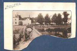 Voeren Fourons Mouland Moelingen Photo Foto 1914 1918 Pont Brug  Plunderende Duitsers - Les Allemands Piller 1914 - Voeren