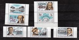 TAAF 273 277  Du Carnet Grands Explorateurs Non Plié Neuf ** MNH Sin Charmela Cote 12.5 - Terres Australes Et Antarctiques Françaises (TAAF)
