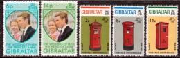 Gibraltar 1974 Yvert 303 / 307 ** TB - Gibraltar