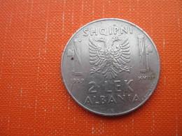 2 LEK 1939 - Albania