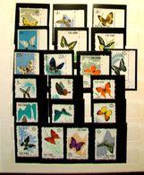 "001-CINA POPOLARE-1963-""Butterfly Serie CMPL.Scott 661/680 "" Nuova (without Gum) . In Parte Con Bordo Foglio. - 1949 - ... République Populaire"