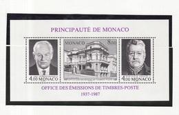 Monaco (C) Bloc Feuillet 1987 Y&T N°BF39 *** - Office Des émissions De Timbre Poste - Blocs