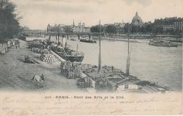 18 / 2 / 454  -   PARIS  - PONT  DES  ARTS  ET  LA  CITÉ (  LES  QUAIS ) - La Seine Et Ses Bords