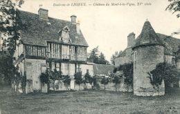 N°4005 A -cpa Château Du Mont à La Vigne -environs De Lisieux- - Autres Communes