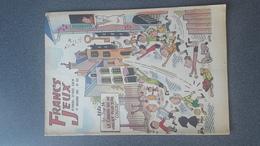 REVUE FRANCS-JEUX N°393 DE NOVEMBRE 1962 COUVERTURE De GRING état Bon - Livres, BD, Revues
