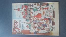 REVUE FRANCS-JEUX N°380 DE MARS 1962 COUVERTURE De GRING état Bon - Books, Magazines, Comics