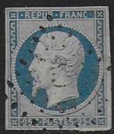Napoléon 25 C - N° 10   - Cote : 40 € - 1852 Louis-Napoléon