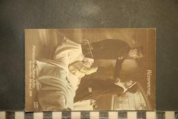 """CP,  MILITAIRE """" RECOMPENSE - HEROISME De SOEUR JULIE - GERBEVILLER 24 AOUT 1914 - Patriottiche"""