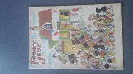 REVUE FRANCS-JEUX N°390 De Septembre 1962 COUVERTURE De GRING état Bon - Books, Magazines, Comics