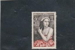 Océanie Yvert 203 * Neuf Avec Charnière - Unused Stamps