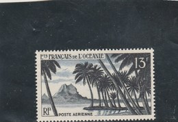 Océanie Yvert PA 32 * Neuf Avec Charnière - Unused Stamps