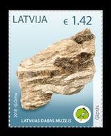 Latvia 2018 Mih. 1039 Minerals. Gypsum MNH ** - Lettland