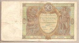Polonia - Banconota Circolata Da 50 Zloty P-71a - 1929 - Polonia