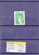 1977-78 France Sabine Gomme Tropicale Sans Bande De Phosphore 1970c ** - 1977-81 Sabine Of Gandon