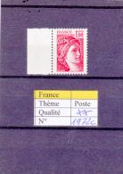 1977-78 France Sabine Gomme Tropicale Sans Bande De Phosphore 1972c ** - 1977-81 Sabine Of Gandon
