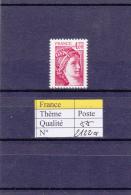 1981 France Sabine Sans Bande Phosphore  2122a ** - 1977-81 Sabine Of Gandon