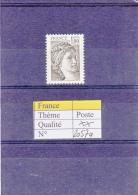 1979 France Sabine Sans Bande Phosphore  2057a ** - 1977-81 Sabine Of Gandon