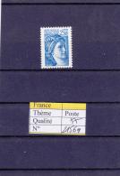 1981 France Sabine Sans Bande Phosphore  2156a ** - 1977-81 Sabine Of Gandon
