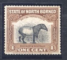Borneo, Yvert 131, Scott 136, SG 158, MNH - Noord Borneo (...-1963)