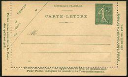 Entier N° 130-CL7 Y Et T, N° 51 ACEP - Postal Stamped Stationery