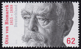 3145 Otto Von Bismarck Aus Rolle Mit GERADER Nummer ** - [7] West-Duitsland