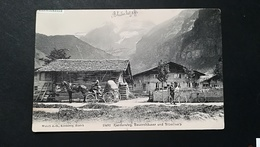 Suisse - KARDERSTEG BAUERNHAUSER  UND BLUMLISALP - BE Berne