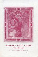 """Vietri Sul Mare (Salerno) - Santino Antico MADONNA DELLA SALUTE Detta """"DELL'ANGELO"""" - OTTIMO N92 - Religione & Esoterismo"""
