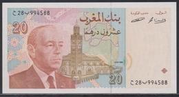 Morocco 20 Dirhams 1996/ AH 1416 UNC - Morocco