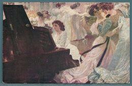 CPA - LE BAL BLANC (J.M. AVY) PIANO - Paintings