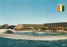 1 AK Côte D'Ivoire - Elfenbeinküste * Das Hotel President In Der Hauptstadt Yamoussoukro - IRIS Karte * - Costa De Marfil