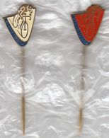 CSSR Czechoslovakia / Cycling / Dynamo / Decin / Pin, Badge, Badges - Cycling