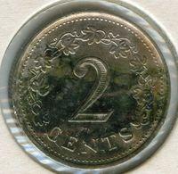 Malte Malta 2 Cents 1976 KM 9 - Malta