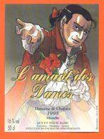 """étiquette De Vin Mistelle Dardagny """" L'amant Des Dames """" Domaine De Chafalet Ramu à Genève - Illustrée Jerry Koch -50 Cl - Collections & Sets"""