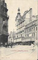 5 Nancy Magasins Réunis 18 Novembre 1905 Carte Envoyée à Ethe Belgique - Nancy
