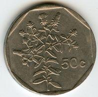 Malte Malta 50 Cents 1992 KM 98 - Malta
