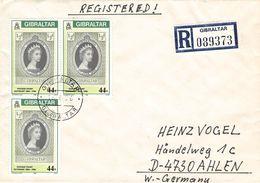 GIBRALTAR - RECO 1986 -> AHLEN/GERMANY Mi #509 - Gibraltar