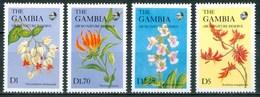 1987 Gambia Fiori Flowers Blumen Fleurs MNH** Fio182 - Gambia (1965-...)