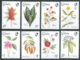 1989 Gambia Fiori Flowers Blumen Fleurs MNH** Fio183 - Gambia (1965-...)