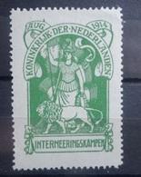 NEDERLAND    Interneringszegel  1916     IN 1      Postfris **      CW  400,00 - Netherlands