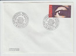 FRANCE - TIMBRE YVERT 1830 ARPHILA 75 L'OEIL SUR LETTRE - CACHET NANTES CONGRES PHILATELIQUE - France
