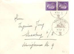 Marcophil2-ENVELOPPE AVEC CACHET DE PROPAGANDE MARKIRCH ( STE MARIE AUX MINES) DE 1942 - Marcophilie (Lettres)