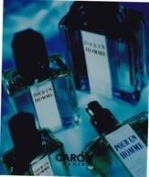 """PUB ,,,,,PARFUM  CARON ,,,,,  """" POUR UN  HOMME """" ,,,,, TBE - Perfume & Beauty"""