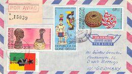 GUINEA-BISSAU - AIRMAIL/REGISTERED MAIL 1987 -> BOTTROP/GERMANY - Guinea-Bissau