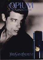 """PUB ,,,, PARFUM  YVES  SAINT  LAURENT  """" OPIUM   POUR   HOMME """",,,,, TBE - Perfume & Beauty"""