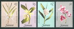1985 Samoa Orchidèe Orchids Orchidées Flowers Blumen Fleurs Set MNH** Fio185 - Samoa