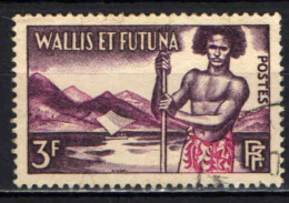 ILES WALLIS  FUTURA - 1957 - INDIGENO - USATO - Used Stamps