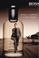 PUB ,,,,,  PARFUM  HUGO  BOSS ,,,, BOSS ,  L' ESPRIT D' HUGO  BOSS,,,, TBE - Perfume & Beauty